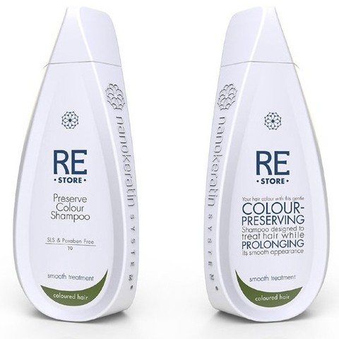 Шампунь для окрашенных волос Preserve Colour Shampoo Nanokeratin System, 320 мл.