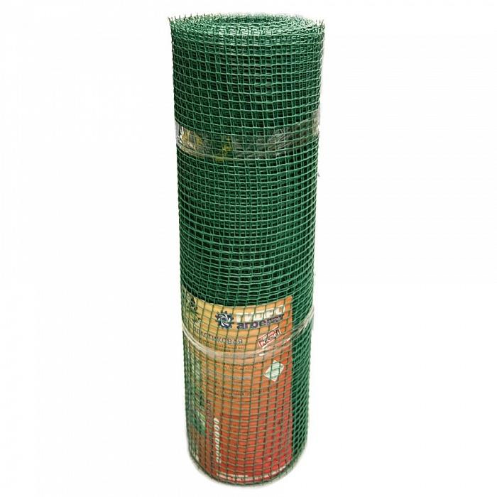 Сетка садовая пластиковая квадратная Гидроагрегат 15x15мм, 1x20м, зеленая