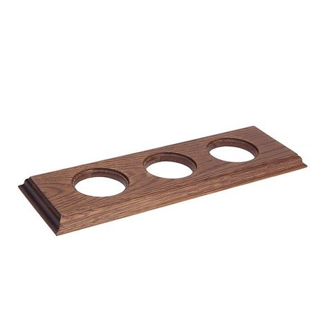 Рамка на 3 поста для внутреннего монтажа. Прямоугольник. Цвет Дуб коричневый. Salvador. С13ДК