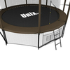 Батут Unix 10 ft Black&Brown inside - 3,05 м