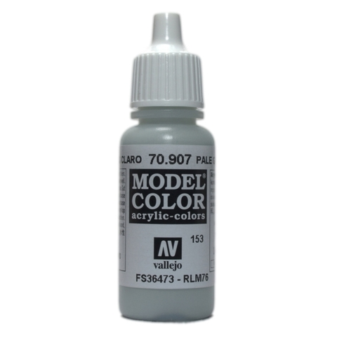 Model Color Pale Grey Blue 17 ml.