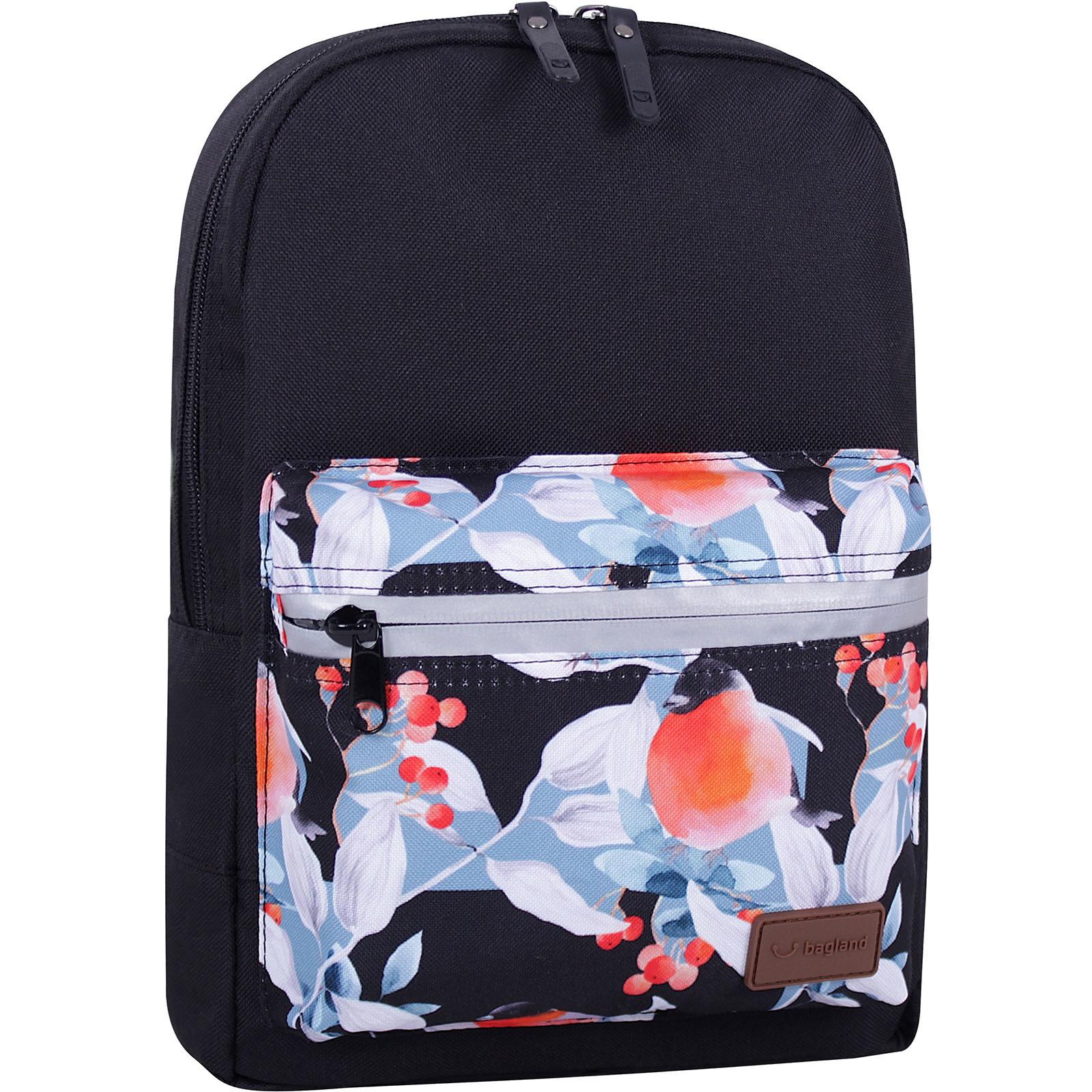 Молодежные рюкзаки Рюкзак Bagland Молодежный mini 8 л. черный 738 (0050866) IMG_8029_суб.738_.JPG