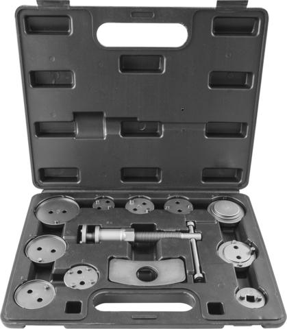 ACPTK12 Приспособление для возврата поршней цилиндров дисковых тормозов в наборе, 12 предметов