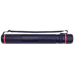 Тубус Стамм на ремне (длина 63-110 см, диаметр 9 см, черный)