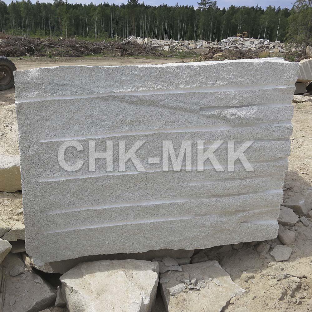 Мансуровский гранит блок