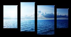 "Модульная картина ""Синее море"""