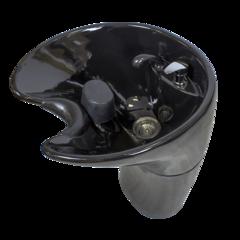 Парикмахерская мойка МД-29, поставляется в черном или белом цвете