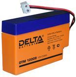 Аккумулятор Delta DTM 12008 ( 12V 0,8Ah / 12В 0,8Ач ) - фотография