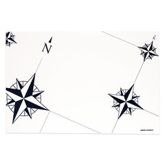 PLASTIFIED PLACEMAT, NORTHWIND