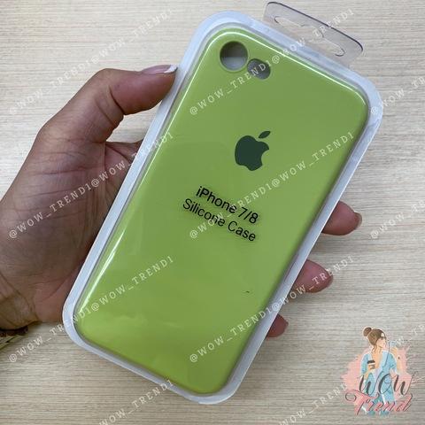 Чехол iPhone 7/8 Silicone Slim Case /lime/