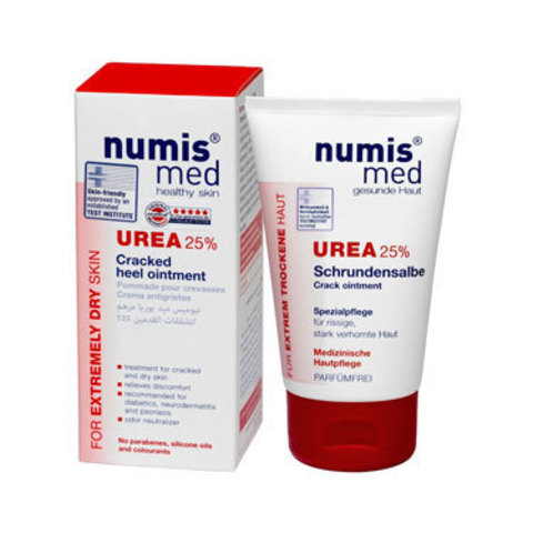 Крем для пяток с 25 % мочевиной Numis Med, 50 мл (срок годности до 06.2021)