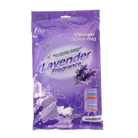 60*80 см вакуумный ароматизированный лавандой пакет для одежды