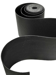 Лента бордюрная 75 см, толщина 3 мм, в рулоне 10 метров, черная