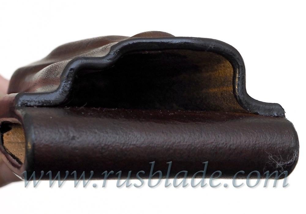 CUSTOM Handmade ZT 0095 Zero Tolerance 0095 Leather Sheath Brown - фотография
