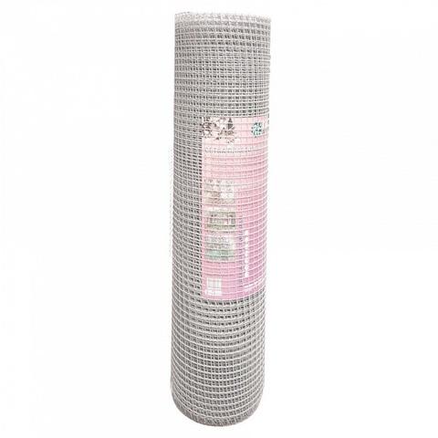 Сетка садовая пластиковая квадратная Гидроагрегат 15x15мм, 1x20м, серебро