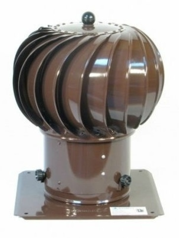 Дефлектор крышный ТД 150 коричневый