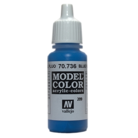 Model Color Blue Fluo 17 ml.