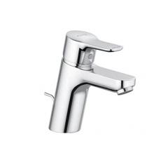 Смеситель для раковины однорычажный c донным клапаном Kludi Pure&Easy 372820565 фото