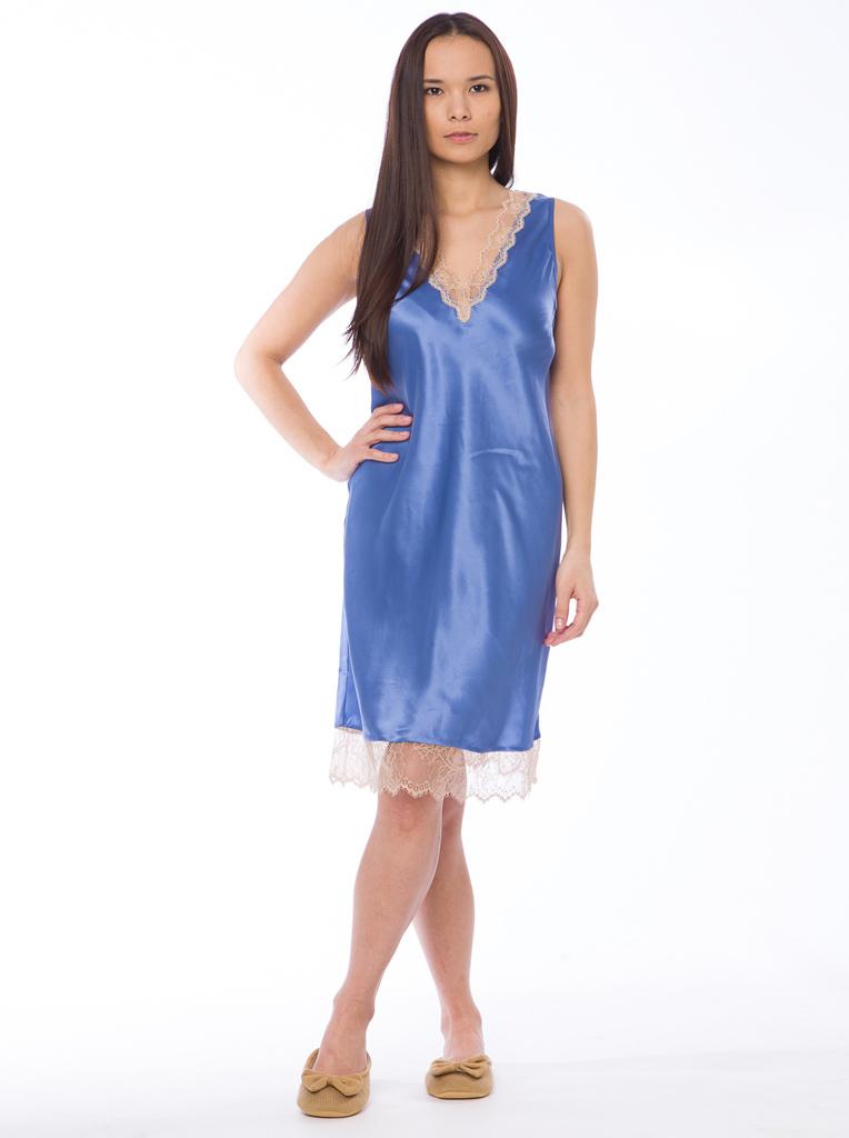Шелковая женская сорочка Twin-Set