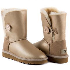 UGG Bailey Button Soft Gold