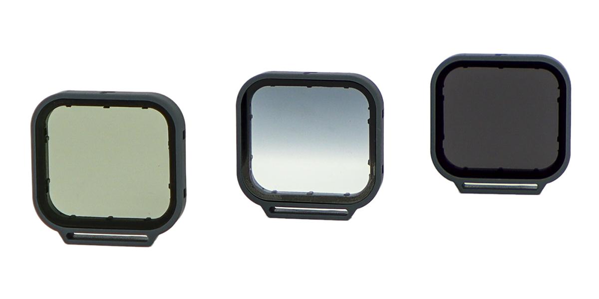Набор фильтров PolarPro Venture 3-Pack HERO 5/6/7 Black