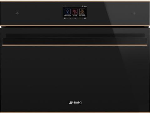 Компактный духовой шкаф Smeg SF4604WMCNR с СВЧ