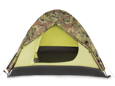 Палатка Larsen 3-х местная 2-х слойная Military 3 (190*270*120) водонепрониц 2000мм 3,4 кг
