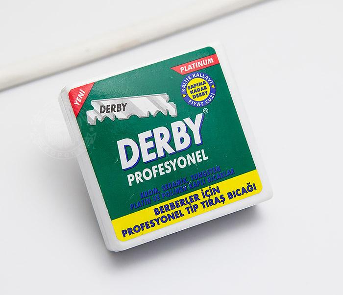 RAZ432 Набор сменных лезвий половинок Derby Professional (100 шт)