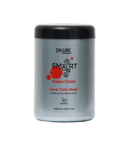 Маска Dewal Cosmetics  (DCC20102) для окрашенных волос SMART CARE Protect Color Save Color Mask 1000 мл