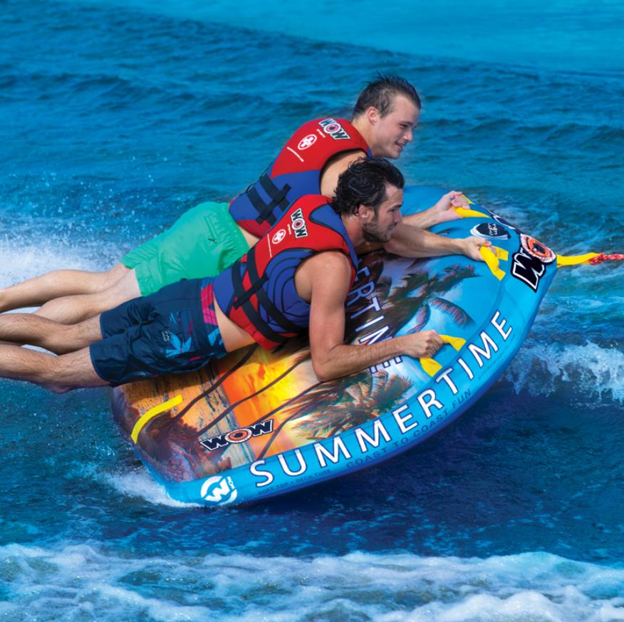 "Towable ski tube ""Summertime"", 2 person"