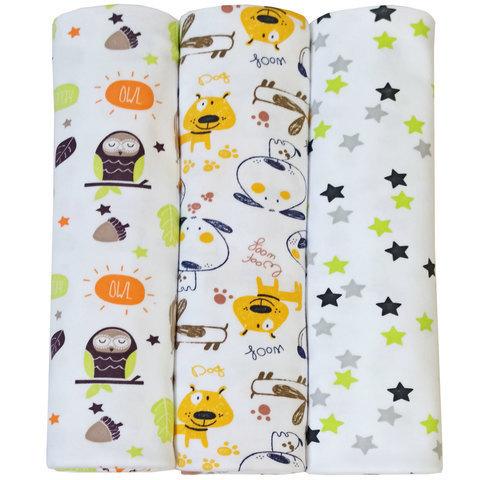 Пеленка для новорожденного интерлок 120*90