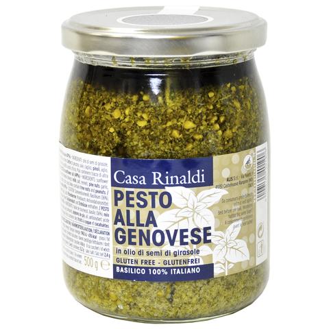 Крем-паста Casa Rinaldi песто Генуя в подсолнечном масле 500 г