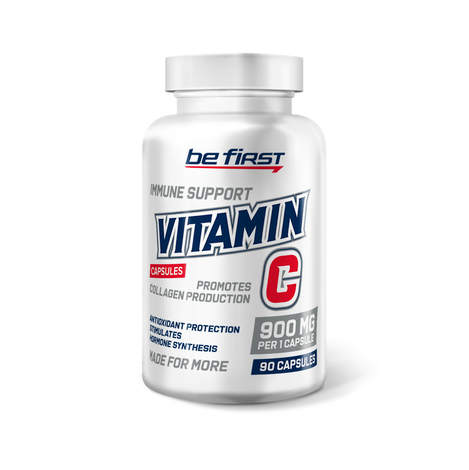 Be First Vitamin C 90 капсул