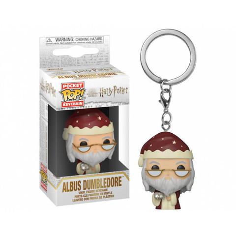 Брелок Праздничный Дамблдор || Funko POP! Keychain Holiday Dumbledore (Harry Potter)