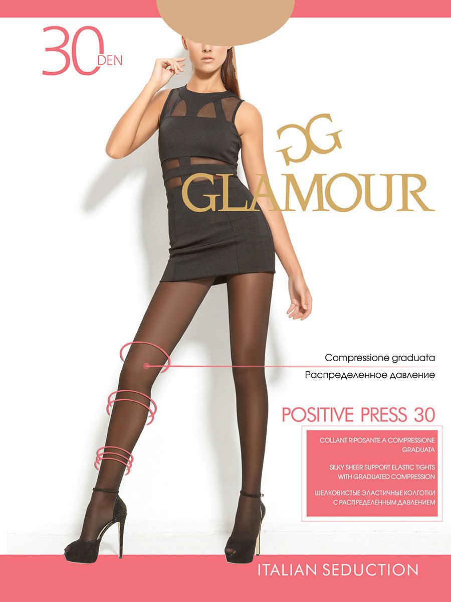 Колготки, чулки, носки Колготки GLAMOUR POSITIVE PRESS 70 den 3258878-1.jpg