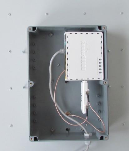 AX-2520P MIMO 2x2 BIG BOX LTE - Антенна 4G направленная с боксом для модема