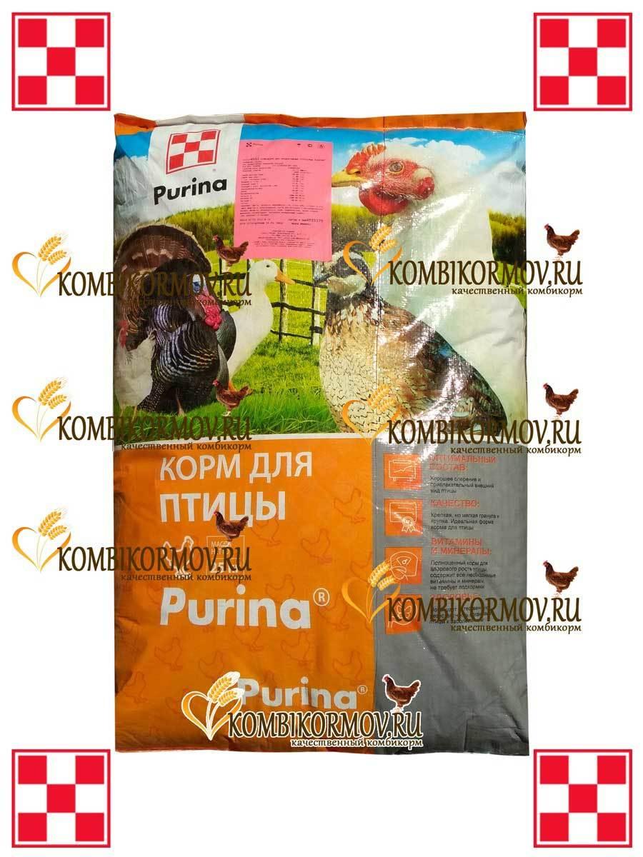 Комбикорм Purina «Финишер» для цыплят-бройлеров 35-55 дней