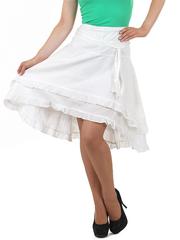 9008-1 юбка белая