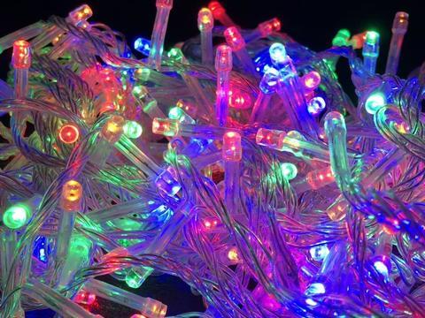 Дощ-гірлянда Бахрома 240 LED C 5 м. синя