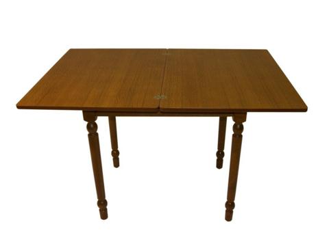 Стол обеденный ВМ50 раскладной овальный коньяк