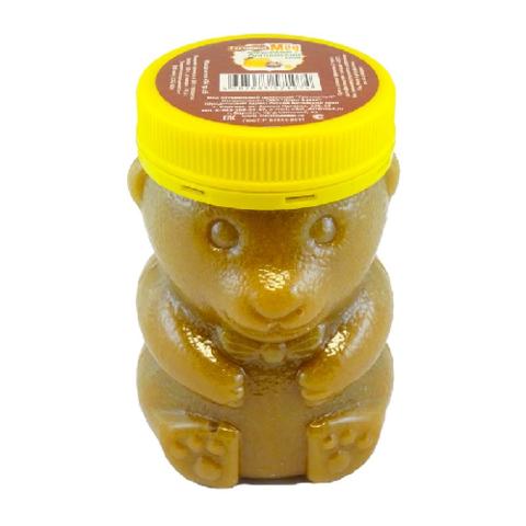 Мёд натуральный «Гречишный» ПЭТ медведь, 450 гр