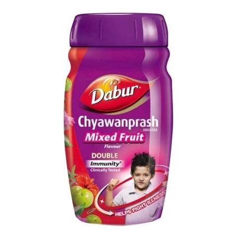 Чаванпраш MIXED FRUIT+ подарок МЁД, 500 г DABUR  (Индия)
