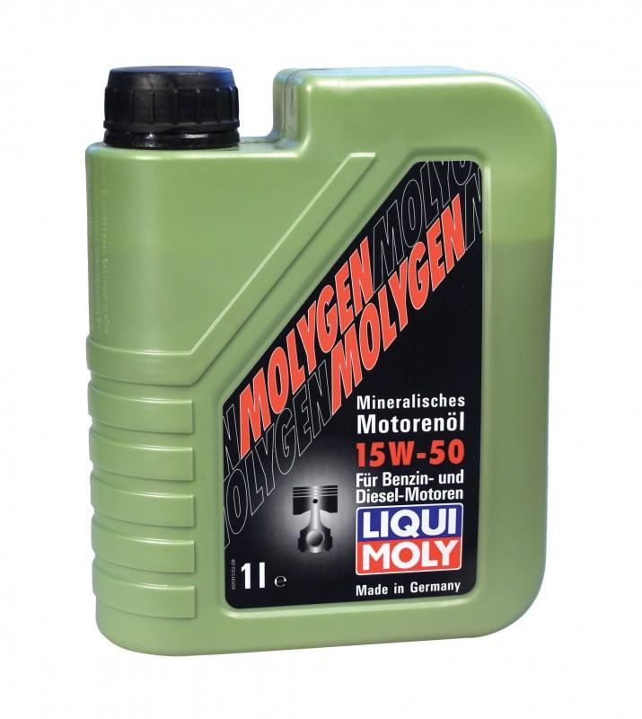 Liqui Moly Molygen 15W50 минеральное моторное масло 5.000