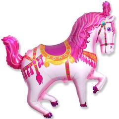 F Мини-фигура, Цирковая лошадь (фуксия), 14