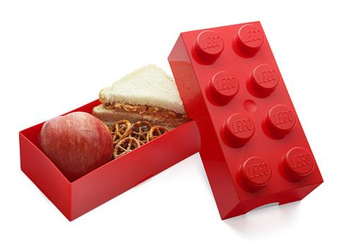 LEGO: Ящик для хранения игрушек 8 (крас.) 4004