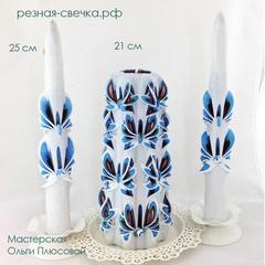 Семейный очаг Сюрприз резные свечи