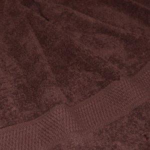 Полотенце 100*150 махровое, цвет шоколад
