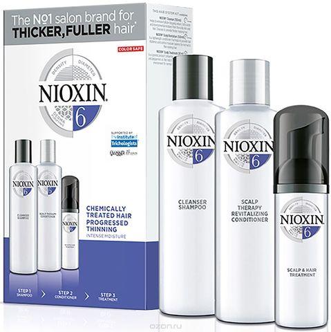 Набор XXL (Система 6),NIOXIN ,150мл(шампунь)+150мл(кондиционер)+50мл (маска)