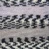 Пряжа YarnArt Crazy Color 137  (Серый, черный)