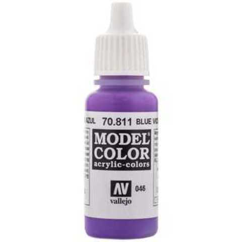 Model Color Blue Violet 17 ml.